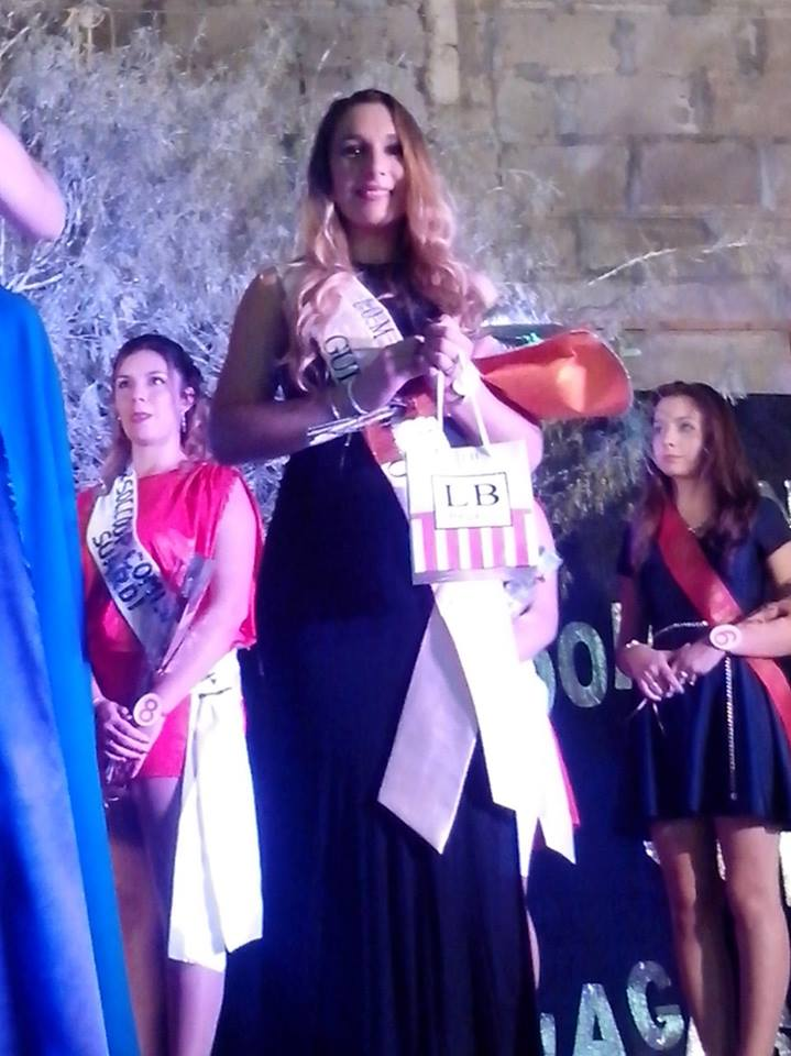 Victoria Costamagna, se consagró 2° Princesa en Huanqueros