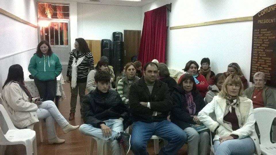 Programas y Proyectos del Ente Cultural Santafesino se presentaron en Arrufó