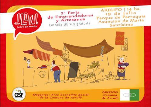 2da Feria de Emprendedores y Artesanos en Arrufó