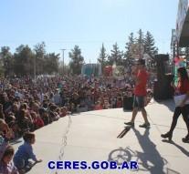 Ceres: Multitudinario Festejo en el «Día del Niño»