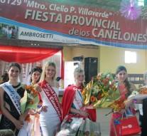 Se desarrolló la «Fiesta Provincial de los Canelones» en Ambrosetti