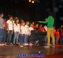 El Coro de Niños de Ceres participó del Encuentro «Cantorcitos»