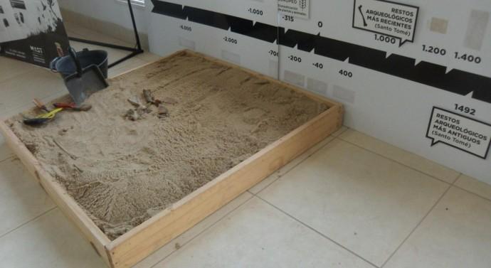 San Guillermo: Se expone Muestra Arqueológica en el Museo Comunal