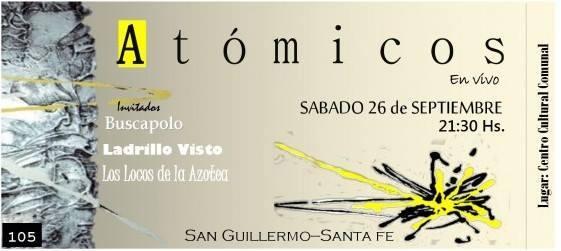 San Guillermo: Llega «Rockeando» con Teatro