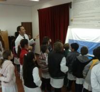 """La Muestra Itinerante """"Las Banderas de Belgrano"""" visitó Arrufó"""