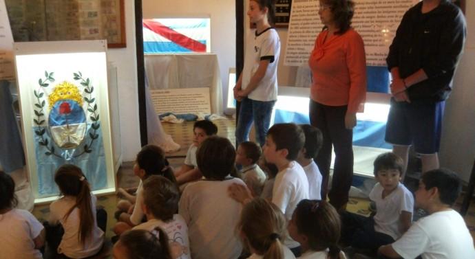 «Las «Banderas de Belgrano» son todo un éxito en la localidad de San Guillermo