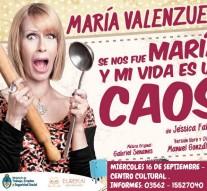Llega María Valenzuela a San Guillermo