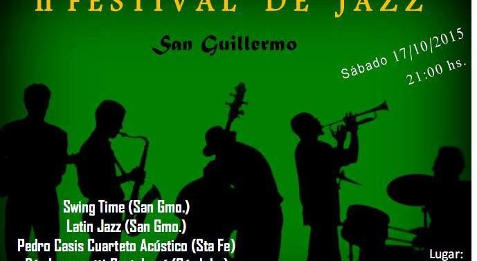 Llega el 2° Festival de Jazz en San Guillermo.