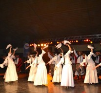 """Emotiva presentación del """"Ballet Folclórico Nacional"""" en Ceres"""