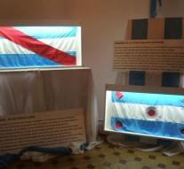 """La Muestra """"Las Banderas de Belgrano"""" se expusieron en Suardi"""