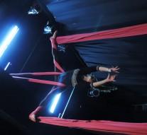 El Taller de Acrobacias en Tela se presenta en Suardi