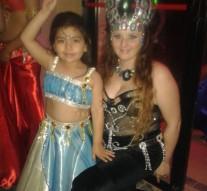 San Guillermo: Muestra de Show de Danzas Árabes en Ceres