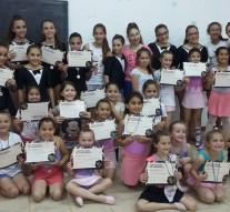 San Guillermo: Taller de Danzas Clásicas y Contemporáneas entrega de Medallas