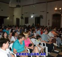 Ceres: Coro de niños, Banda Infanto Juvenil de Música, Taller de Guitarra y de Acordeón.