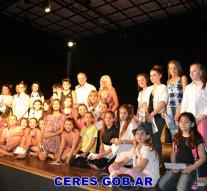 Ceres: Cierre lectivo del Taller del Teatro de Niños del Liceo Municipal