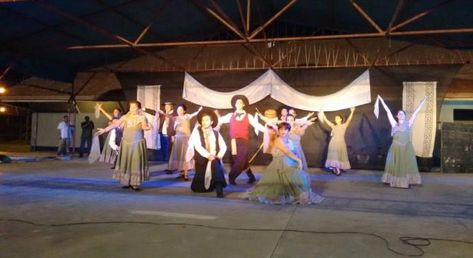 Ceres: Gran cierre del Taller de Folclore Municipal