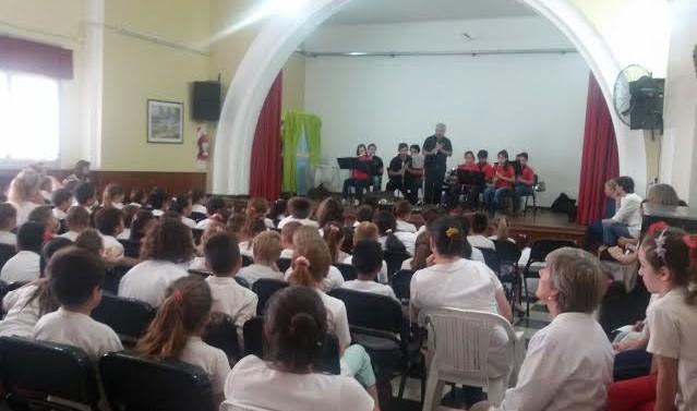San Guillermo: Conciertos Didácticos en la ciudad de Sunchales