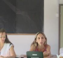 La Secretaria de Cultura de Suardi visitó la Escuela Especial de San Guillermo