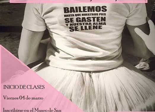 San Guillermo: Abierta la inscripción al Taller de Danzas Clásicas y Contemporáneas