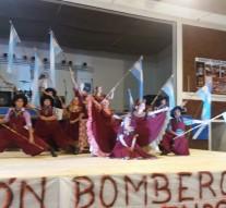 San Guillermo: El «Ballet Melipal» se lució en la Peña Solidaria