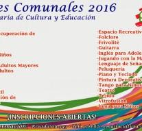 Suardi lanza sus «Talleres Culturales 2016»