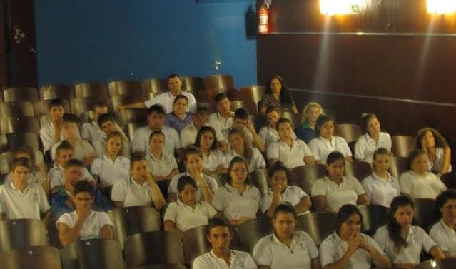 En Suardi se proyectaron cortometrajes por el «Día de la Memoria»