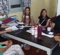 Reunión de Trabajo para el comienzo de actividades en C.A.S.A de Paso