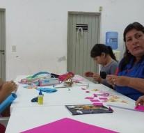 "San Guillermo: Comenzó el ""Taller Cultural de Manualidades"" para Niños"