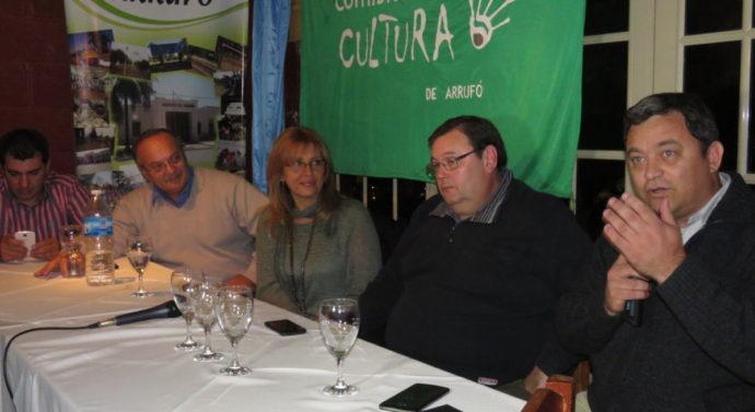 Con una excelente convocatoria el Ente Cultural se presentó en Arrufó