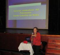 Suardi: Charla sobre''Valores Simbólicos del Patrimonio de Santa Catalina de Siena'