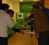 En Arrufó se inauguró la Muestra itinerante «Forma y Color»