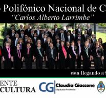 El Coro Polifónico Nacional de Ciegos se presentará en el norte santafesino