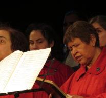 El Coro Nacional de Ciegos inició su gira provincial en Ceres