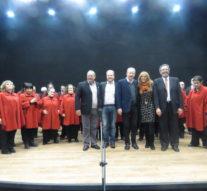 Con total éxito finalizo la gira del «Coro Nacional de Ciegos» en San Guillermo