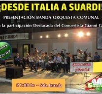 Suardi: Presentación Banda Orquesta Comunal