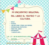 Arrufó: XX Encuentro Regional del Libro, el Teatro y la Cultura