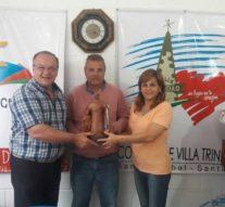 """Villa Trinidad recibió al Premio Provincial """"Julio Migno"""""""