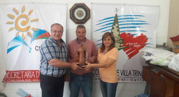 Villa Trinidad recibió al Premio Provincial «Julio Migno»