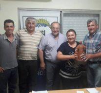 """Ambrosetti recibió al Premio Provincial """"Julio Migno"""""""