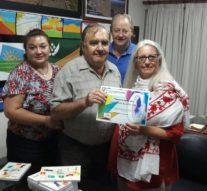San Guillermo recibió la producción literaria 2016 del Ente Cultural Santafesino
