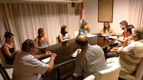 """Reunión preparatoria de la """"Usina Cultural V"""" en San Guillermo"""