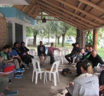 Reunión con representantes del Movimiento Nacional de Murgas