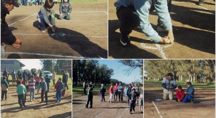 """Hersilia llevo a cabo su """"Torneo de Bolitas"""" en búsqueda de sus representantes"""