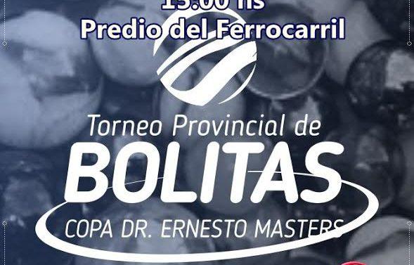 Suardi llevara a cabo su «Torneo Provincial de Bolitas»