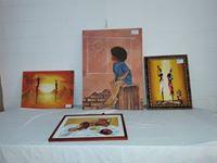 La muestra «Forma y Color» ya visita la comunidad de Villa Trinidad