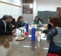 En Arrufó se reunieron los referentes culturales de la Usina V