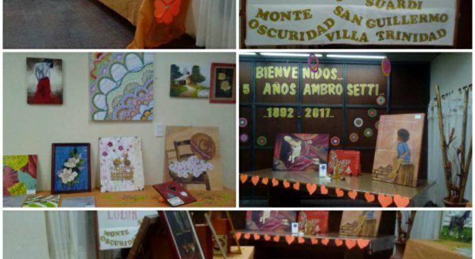 """Las """"Formas y Colores"""" llegaron a la comunidad de Ambrosetti"""
