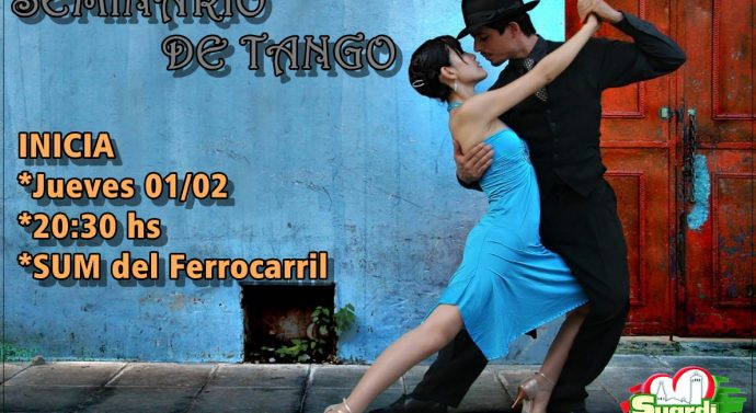 «Seminario de Tango» en la ciudad de Suardi