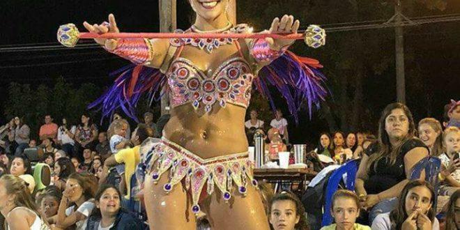 San Guillermo: Fer Romano es la nueva Reina de la Scola Do Samba Unión