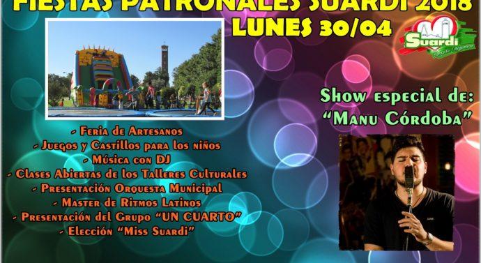 Festejos Patronales en la ciudad de Suardi